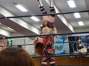 アジャ・コング&松本浩代 vs 倉垣翼&藤本つかさ (5)