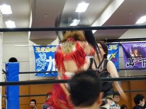 尾崎魔弓&桜花由美&雪妃魔矢 vs 加藤園子&AKINO&花月 (9)