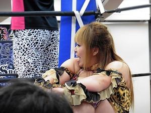加藤園子&AKINO vs 星ハム子&宮城もち (6)