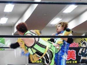 ダイナマイト関西vs浜田文子 (5)
