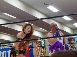 アジャ・コング&松本浩代 vs 倉垣翼&藤本つかさ (19)