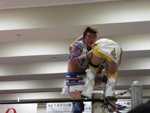 永島・志田 vs AKINO・加藤 (5)