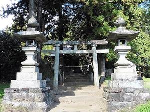 岩井白山神社 (2)