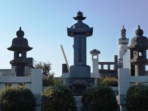 関孝和の墓 (2)