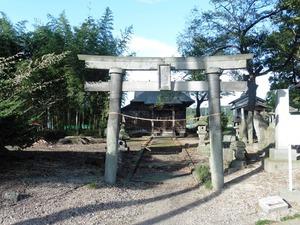 上の森八幡宮 (1)