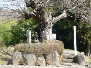 横堀宿の一里塚 (2)