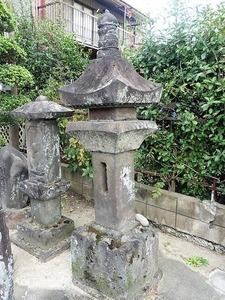 亀里町阿内宿の石幢 (2)