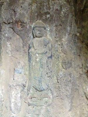 関の磨崖仏 (3)