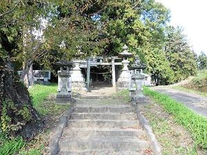 岩井白山神社 (1)