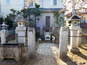小栗又一の墓 (2)