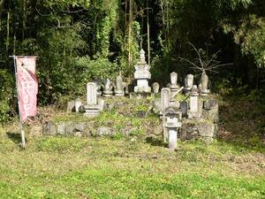 伝真田熊之助の墓 (1)
