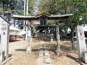 古海長良神社 (1)
