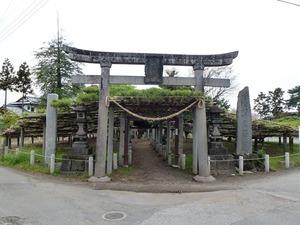 菅原神社(連取の松) (1)