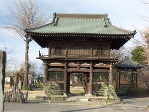 青蓮寺 山門