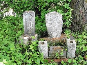 吉田芝渓の墓 (2)