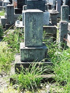 竹本土佐太夫の墓 (1)