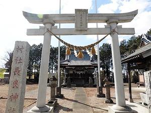 下中森長良神社 (1)