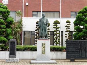 伏島近蔵の銅像 (1)