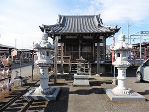蛭沼薬師堂 (1)