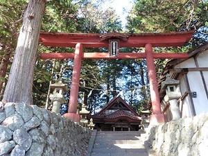 須賀尾諏訪神社 (2)