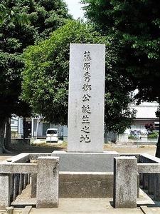 舞木城址(藤原秀郷の碑) (2)