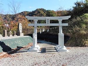上白井厳島神社 (1)