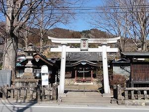 万場八幡宮 (1)