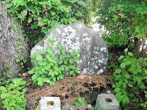 吉田芝渓の墓 (4)