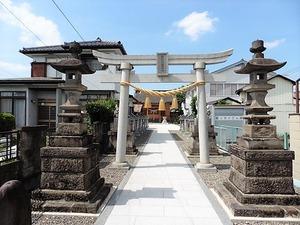 立石諏訪神社 (1)
