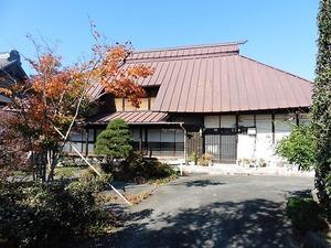 お徳の旧家屋