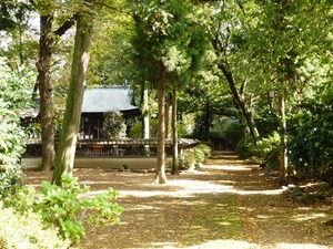 神明宮と岡登霊神社