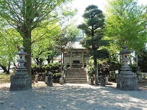 萩原八幡宮 (1)