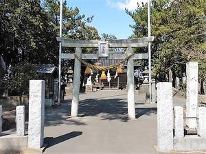 上中森八幡宮 (1)
