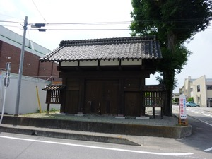 吉井藩陣屋の表門 (2)