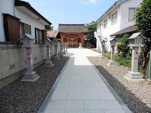 立石諏訪神社 (6)