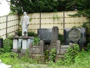 大前田英五郎の墓 (2)