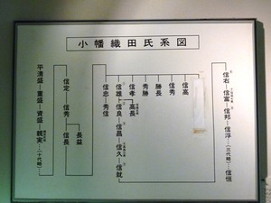 信雄家系図