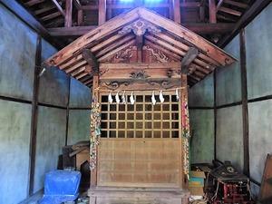 上白井厳島神社 (7)