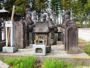 上村氏の墓