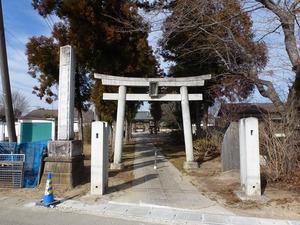 鶉長良神社 (1)