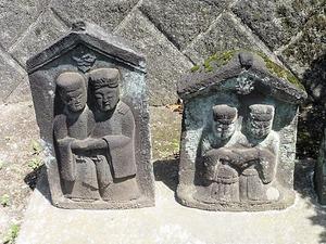 井上家墓地の宝篋印塔 (4)