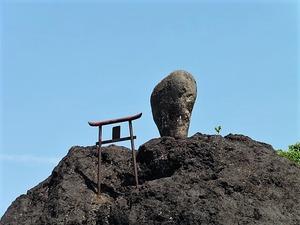 中村の浅間石 (2)