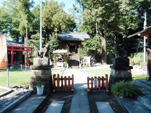 上中居諏訪神社 (2)