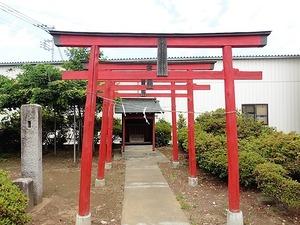 小泉雷電神社 (1)