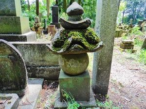 山崎石燕の墓
