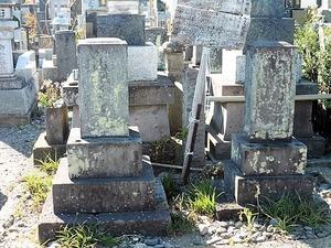 竹本土佐太夫&百合太夫の墓