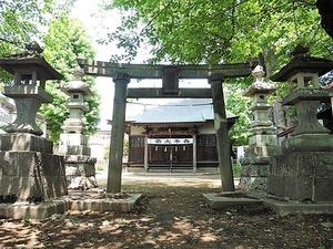 溝呂木諏訪神社 (2)