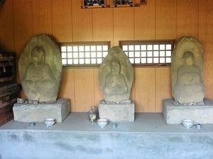 馬庭の薬師堂 (2)