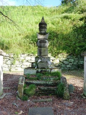 織田家7代の墓碑 (4)