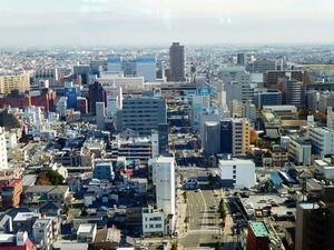高崎市役所からの風景 (3)